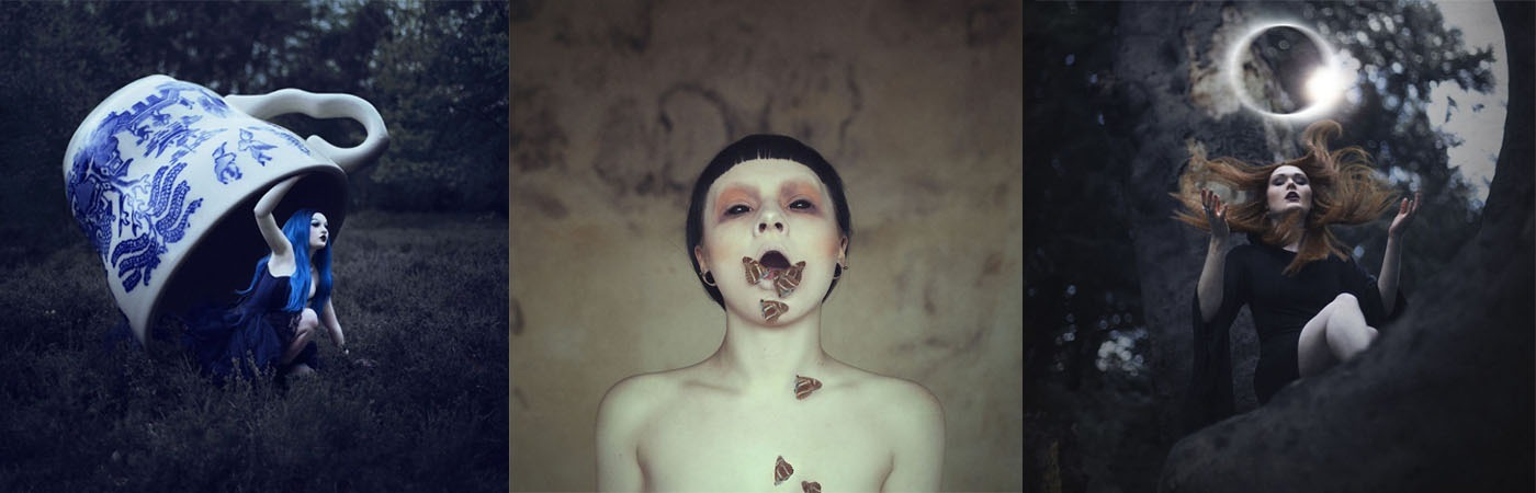 Dark Wonderland Photography by Stephanie Pearl