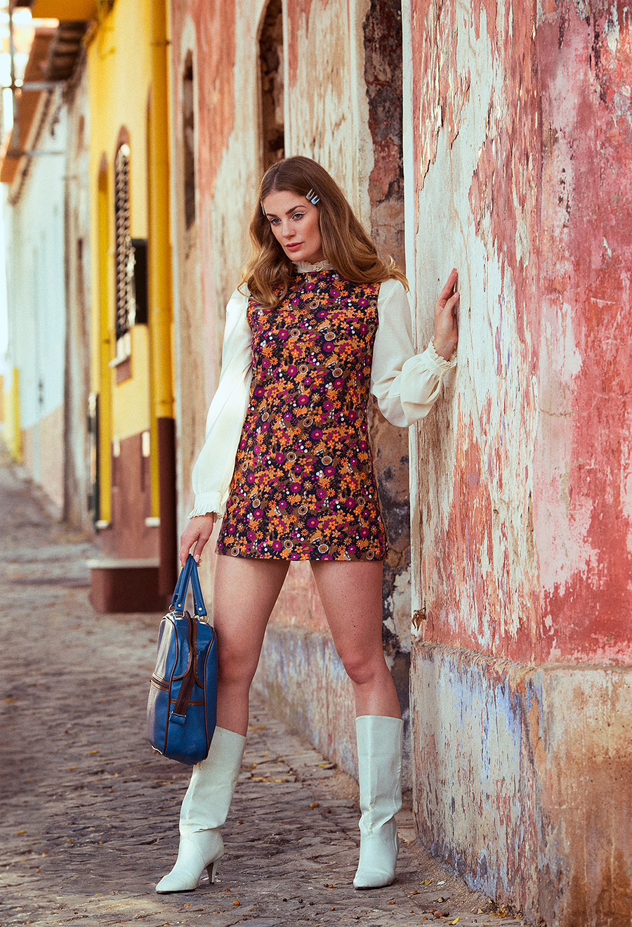 Sixties in Silves / Photography by IainT, Model Artemis Fauna, Stylist Artemisian Luxury Photographic Holidays / Uploaded 6th November 2018 @ 08:07 PM