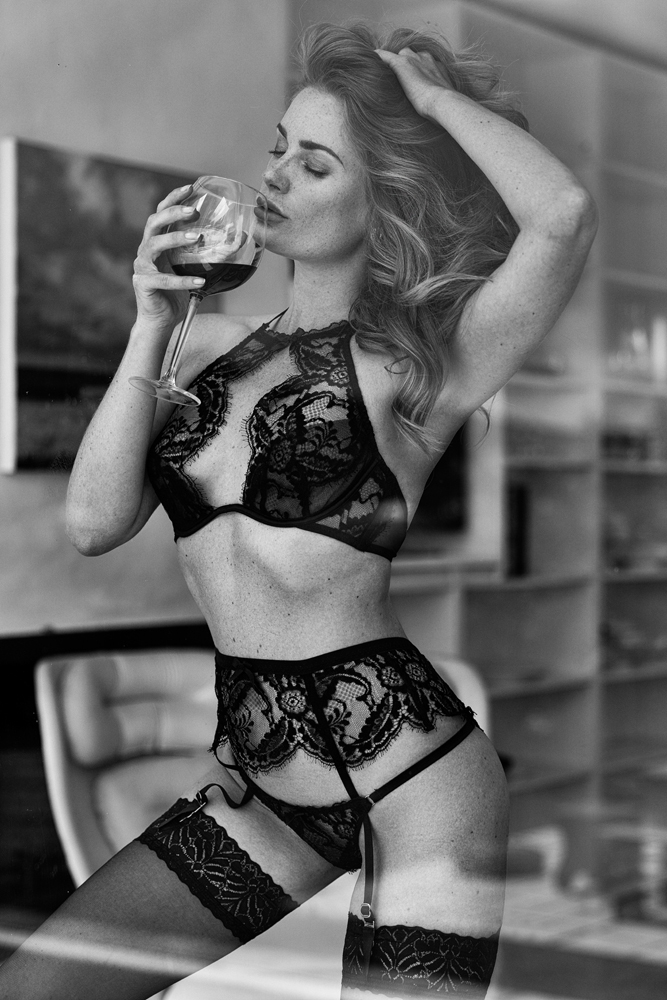 Two of my favorite things... Red wine and expensive lingerie / Photography by Eyas, Model Artemis Fauna, Post processing by Artemis Fauna / Uploaded 11th December 2019 @ 07:02 PM