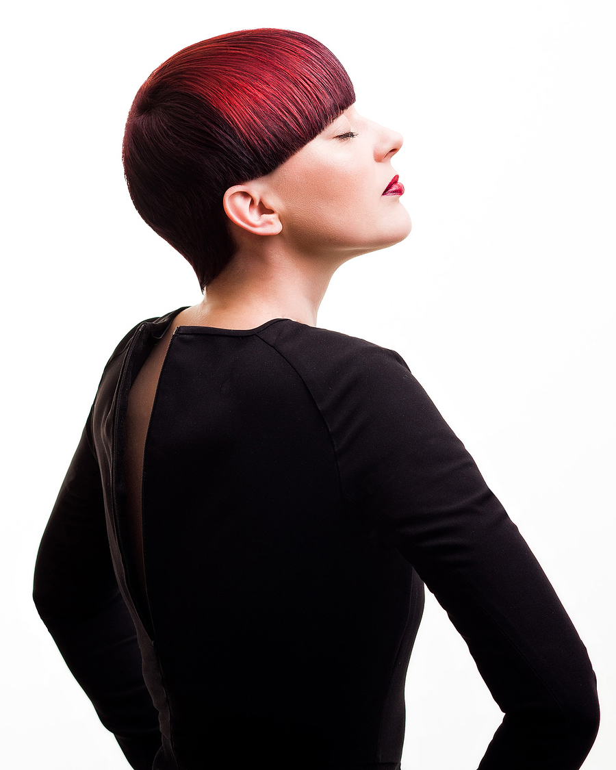 Loreal Colour Trophy Finalist / Photography by alexkidd / Uploaded 21st March 2014 @ 01:11 PM
