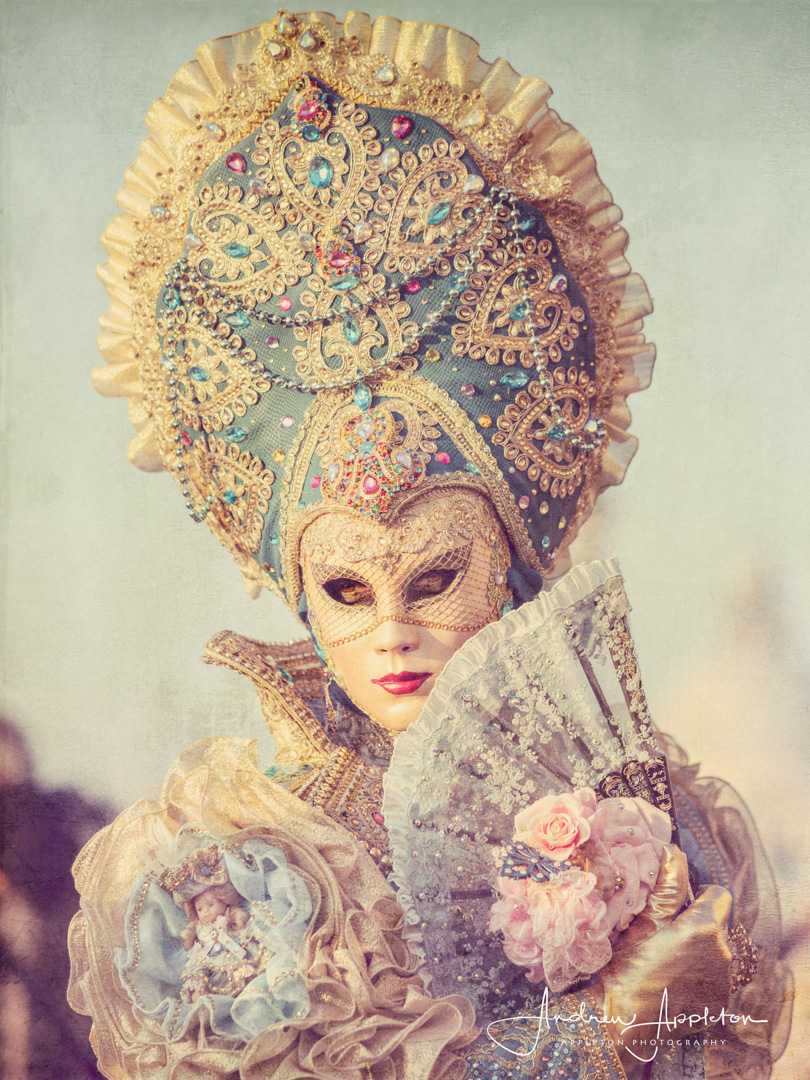 Venice Carnival at Sunrise #01 / Photography by Andrew Appleton / Uploaded 31st July 2019 @ 01:17 PM