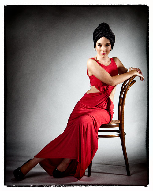 Tammy Red Dress / Photography by AlanJ / Uploaded 14th August 2012 @ 04:23 PM