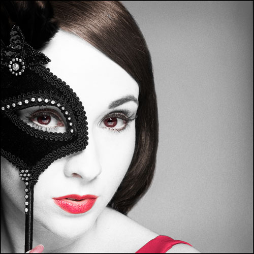 Black Mask / Photography by AlanJ, Model Tammy12 / Uploaded 14th August 2012 @ 04:27 PM