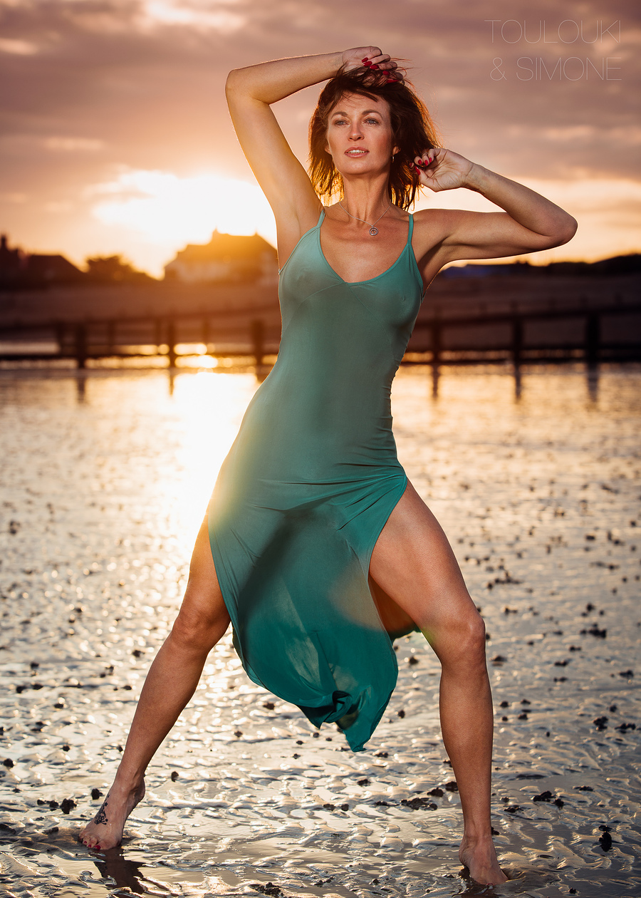Evening Glow / Photography by Simone Orsini, Model Alibrooks, Post processing by Toulouki Orsini Retouching / Uploaded 16th May 2017 @ 10:51 PM