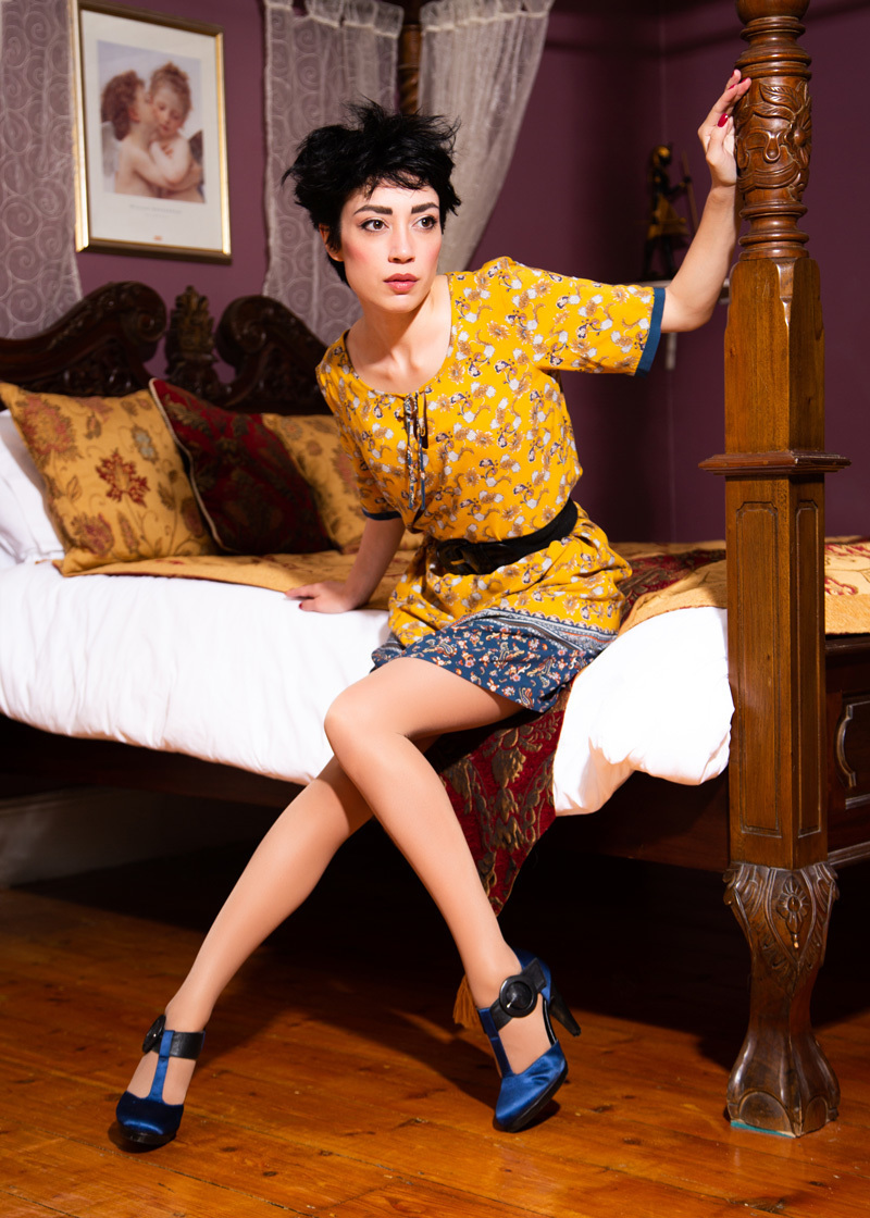 mustard pixie / Photography by MattB, Model Rebecca Tun, Makeup by Rebecca Tun, Post processing by MattB, Stylist MattB, Stylist Rebecca Tun, Taken at Thurston Lodge, Hair styling by Rebecca Tun / Uploaded 19th March 2019 @ 06:33 PM