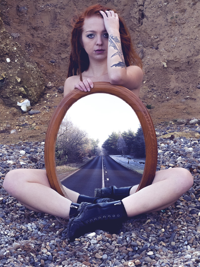 Road to nowhere / Photography by Chris Booey L, Model Ivy Allura, Makeup by Ivy Allura, Post processing by Chris Booey L / Uploaded 7th February 2019 @ 05:19 PM