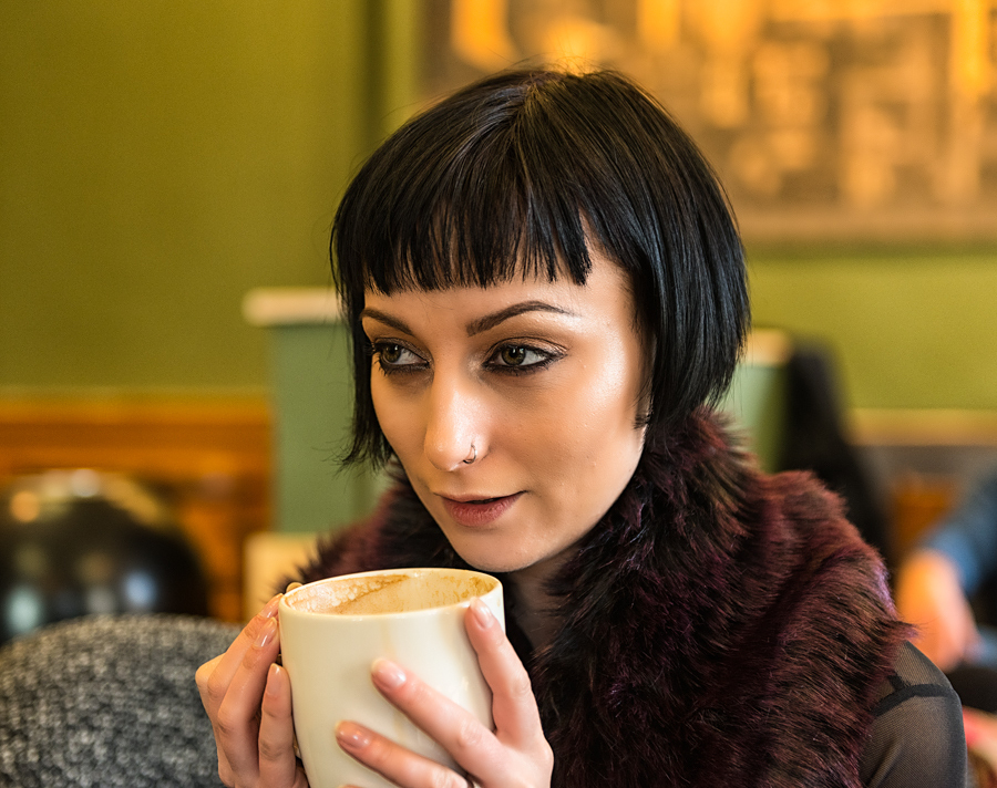 Time for a hot Cuppa! / Photography by Mike Lyne, Model Marie Jean Saxton, Post processing by Mike Lyne / Uploaded 23rd June 2021 @ 03:23 PM