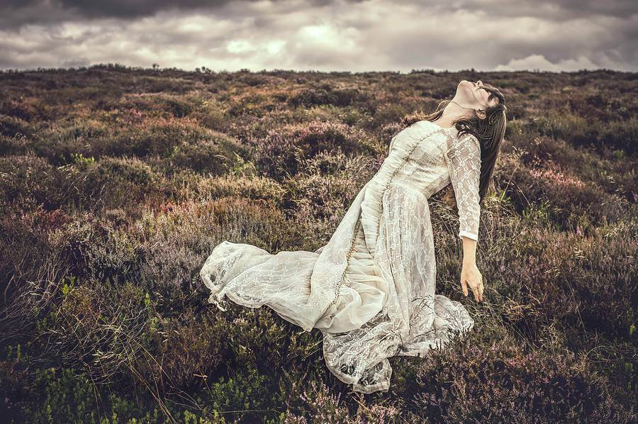 Bad dreams in the night They told me I was going to lose the fight. Leave behind my wuthering / Photography by wombat77, Model Amethyst . / Uploaded 12th September 2017 @ 06:38 PM