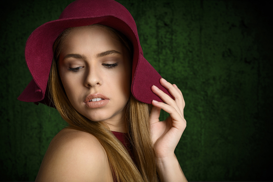 Floppy Hat / Photography by Brian J Davies, Model MariaGu / Uploaded 11th November 2019 @ 10:40 AM