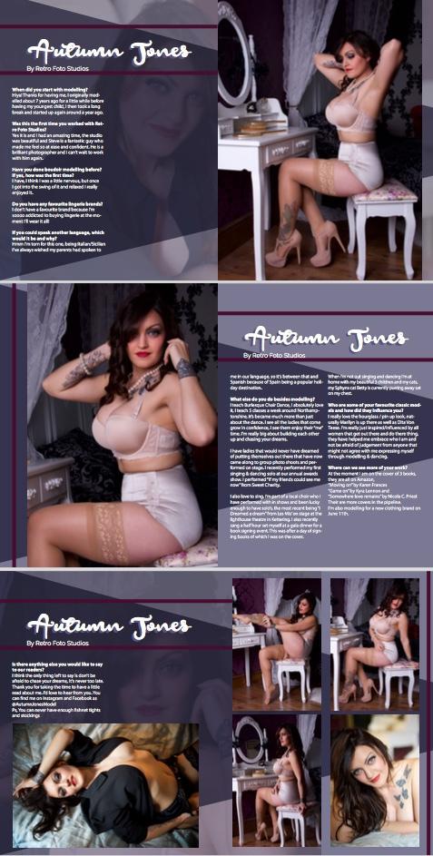 Boudoirzine 4 / Model AutumnJones / Uploaded 24th July 2017 @ 08:45 AM