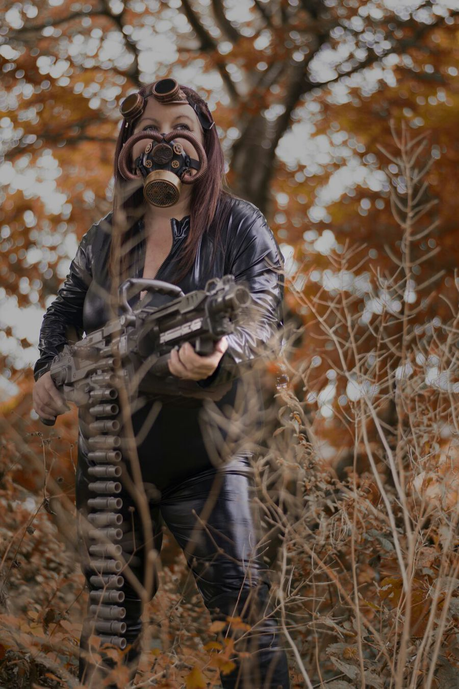 Steampunk warrior / Model Sammi71 / Uploaded 21st October 2016 @ 10:29 AM