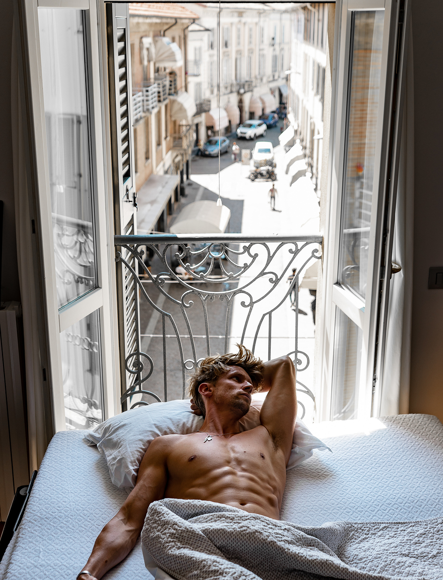 Waking up and realising .... I left the window open all night 🤦♂️ / Photography by PaulMiller, Model PaulMiller / Uploaded 9th August 2020 @ 04:03 PM