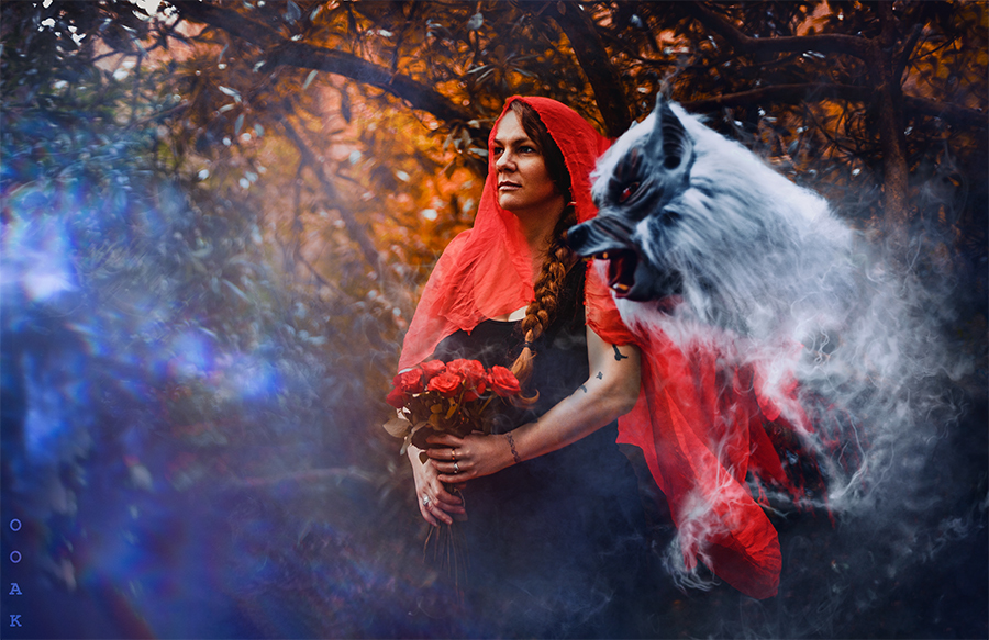What does a promise mean, when it's made to a monster? / Photography by OOAK, Model Miss Versatile, Post processing by OOAK Leaf (retoucher) / Uploaded 12th March 2020 @ 08:12 PM