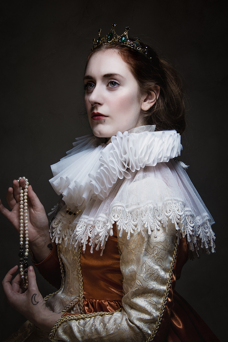 The Virgin Queen / Photography by Candy Heart, Model Seren Wise / Uploaded 31st August 2019 @ 09:41 PM