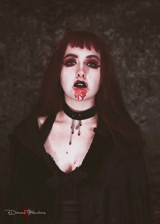 Vampire / Photography by 2diamond productions, Model Maretta Vergette / Uploaded 10th October 2017 @ 06:53 PM