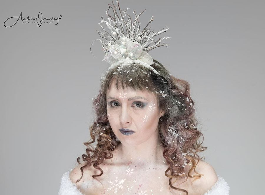 Snow Queen / Photography by Wolfe Cottage Studio, Model Maretta Vergette, Makeup by Bear MUA, Taken at Wolfe Cottage Studio, Hair styling by Bear MUA / Uploaded 14th May 2018 @ 07:57 PM