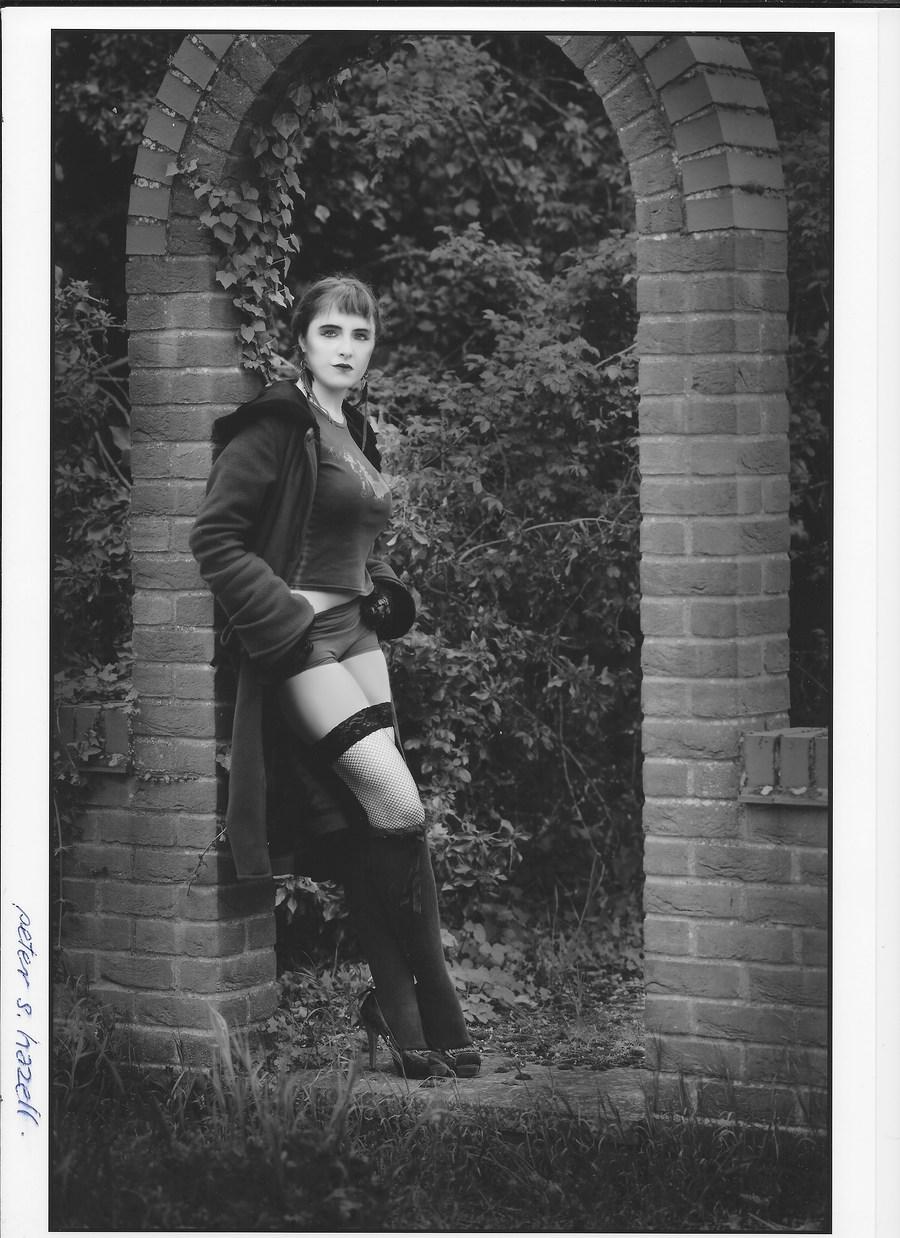 Fashion with an Edge. / Model Maretta Vergette / Uploaded 2nd June 2018 @ 02:14 PM