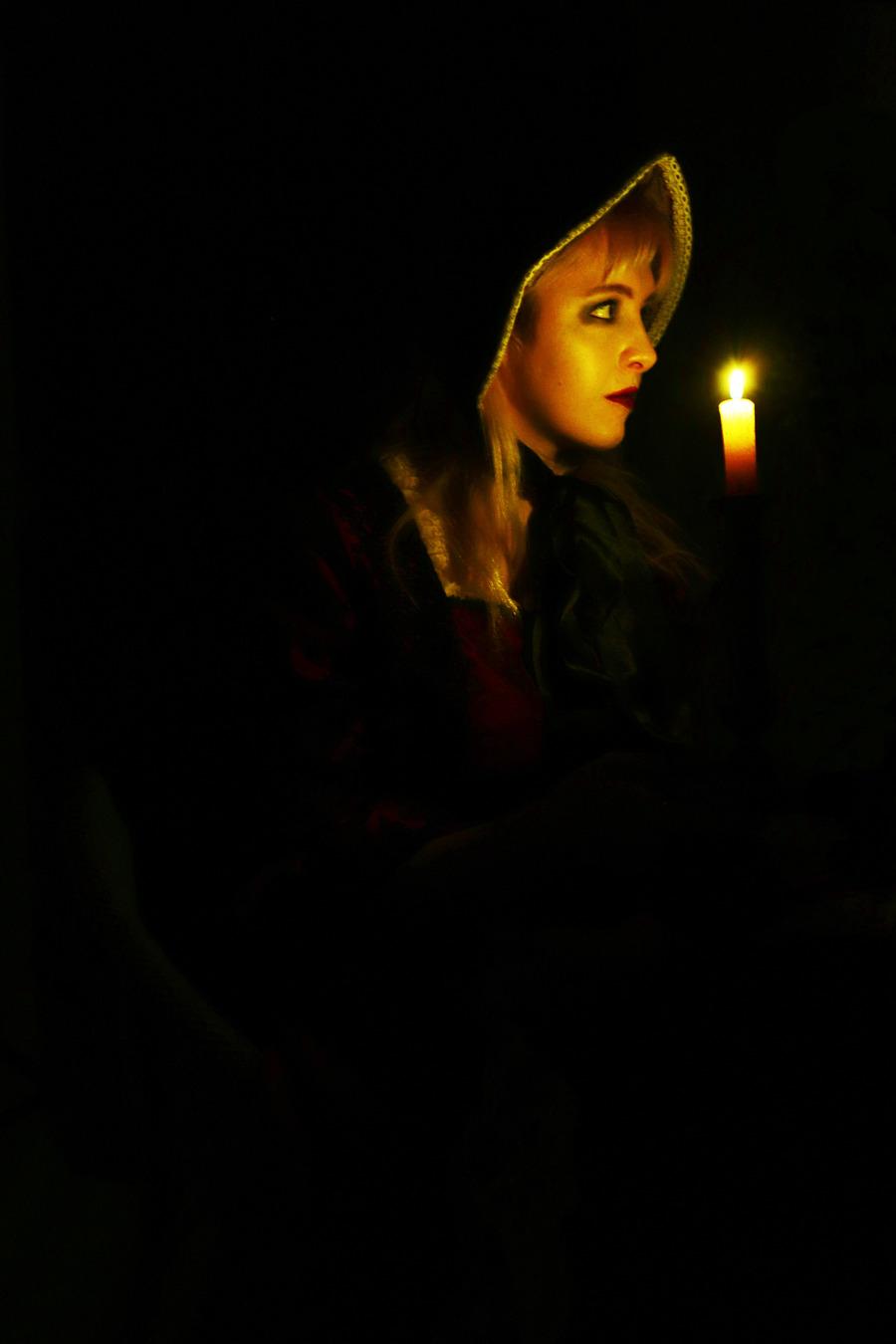 Lurking in the shadows. / Photography by Toby doddridge, Model Maretta Vergette, Taken at Butterfly Studios Norwich / Uploaded 8th July 2019 @ 07:13 PM