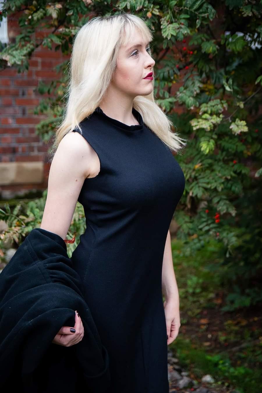 Little Black Dress / Model Maretta Vergette / Uploaded 17th November 2019 @ 11:10 PM