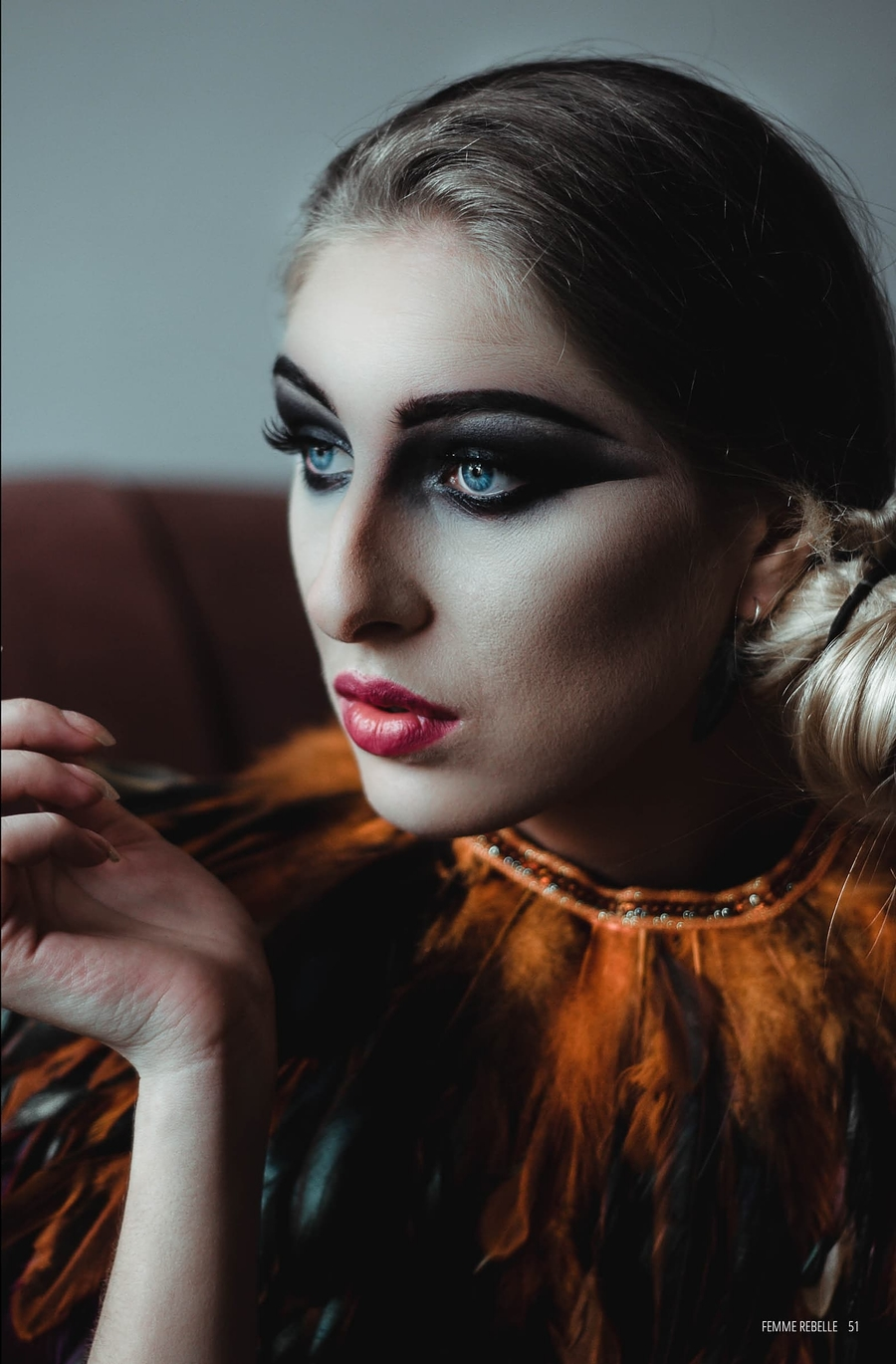 Obsidian / Model Ashleigh claire, Makeup by Adam Mark Williams / Uploaded 9th February 2020 @ 08:16 PM