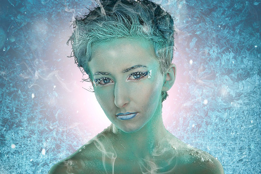Ice Queen / Photography by West172 Photography, Model KatyB (Katex), Post processing by Ben Moorhouse / Uploaded 19th November 2016 @ 06:38 PM