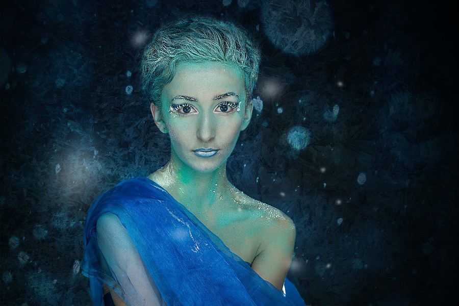 Ice Queen / Photography by West172 Photography, Model KatyB (Katex), Post processing by Ben Moorhouse / Uploaded 19th November 2016 @ 06:41 PM
