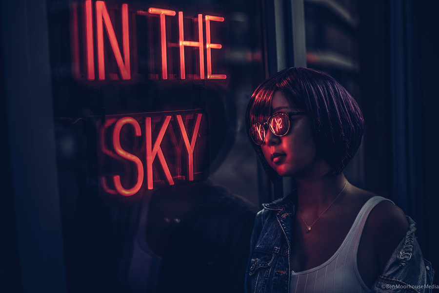 In the sky / Photography by Ben Moorhouse, Post processing by Ben Moorhouse / Uploaded 30th July 2018 @ 05:19 PM