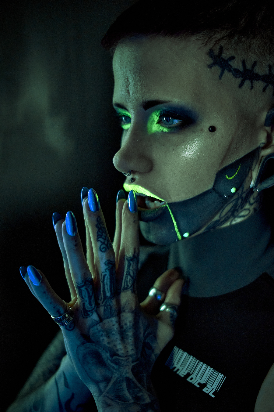 Cyberpunk / Photography by Fusco Media Ltd, Makeup by RoosJames / Uploaded 5th March 2020 @ 05:23 PM
