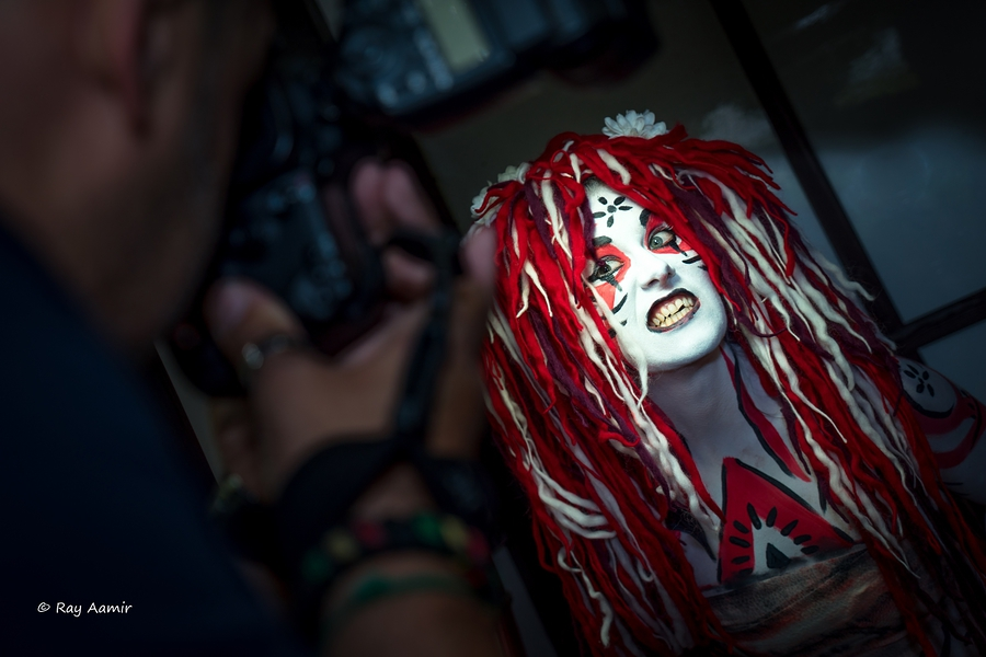 Body Paint / Makeup by Whimsical Sorceress / Uploaded 12th September 2016 @ 08:24 PM