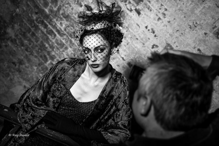 Film Noir / Model Juliana Damson, Makeup by SkulledRabbitFX / Uploaded 12th September 2016 @ 11:50 PM
