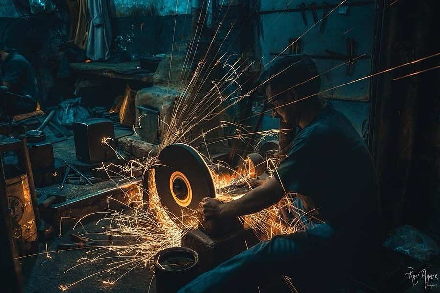 Blacksmith / Photography by Ray Aamir / Uploaded 25th June 2018 @ 04:58 PM