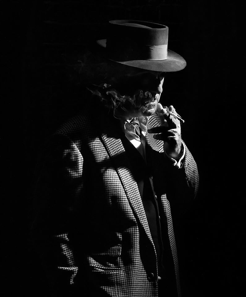 Smoking in the Shadows / Model G Brodie / Uploaded 27th October 2016 @ 03:55 PM