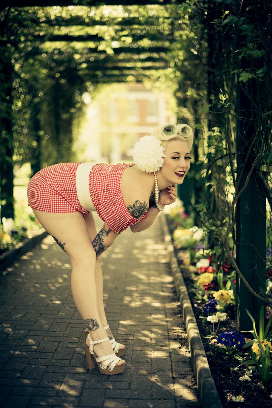 Spring time love / Photography by Lukasz Kapuscinski, Model Millie Jean, Makeup by Millie Jean, Stylist Millie Jean, Hair styling by Millie Jean / Uploaded 16th September 2017 @ 09:10 PM