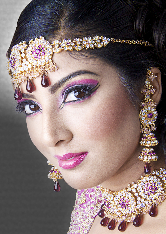 Asian Bridal Makeup / Photography by JTotham, Post processing by JTotham / Uploaded 3rd November 2012 @ 10:14 AM