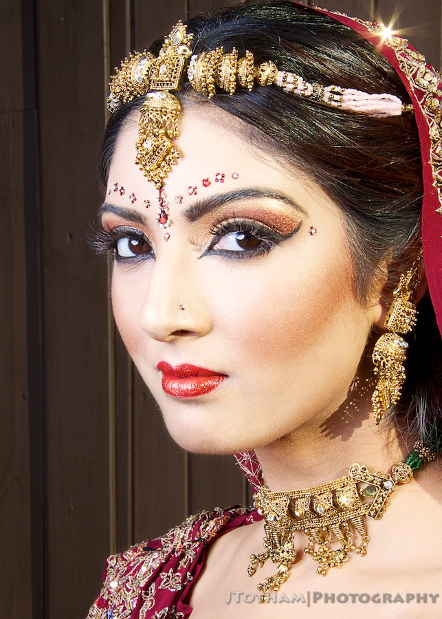 Asian Bridal Makeup / Photography by JTotham, Post processing by JTotham / Uploaded 3rd November 2012 @ 11:33 AM