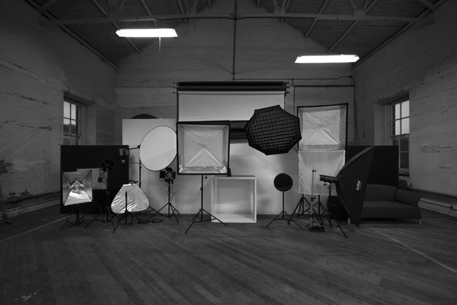 Just a selection of our lighting in the back drop area. / Photography by JTD-Photography, Taken at Natural Light Spaces / Uploaded 24th October 2016 @ 09:35 AM