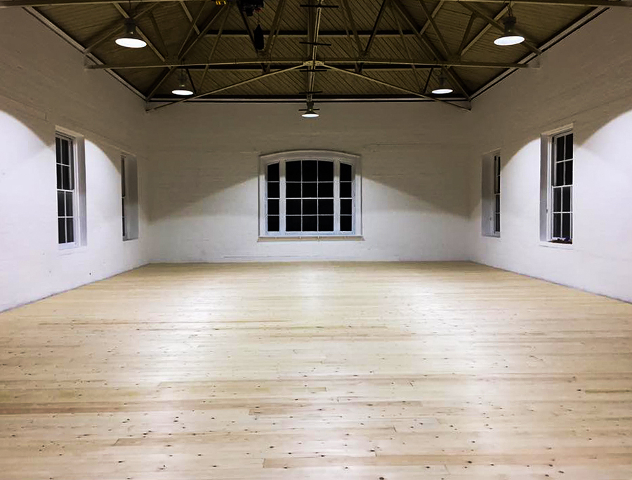 First look at the new performance floor in the second studio