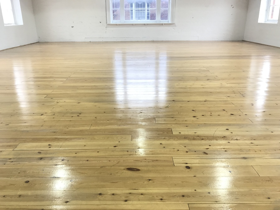 Newly refinished White Room floor / Photography by Natural Light Spaces, Taken at Natural Light Spaces / Uploaded 9th February 2019 @ 06:14 PM