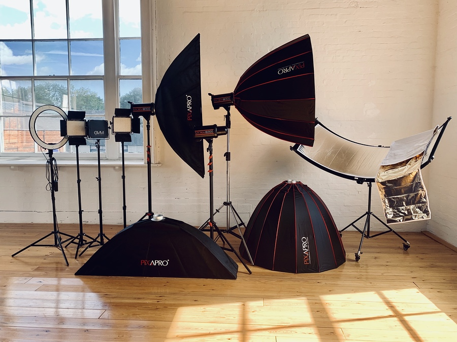 Just a selection of our new equipment / Taken at Natural Light Spaces / Uploaded 5th September 2019 @ 12:04 PM