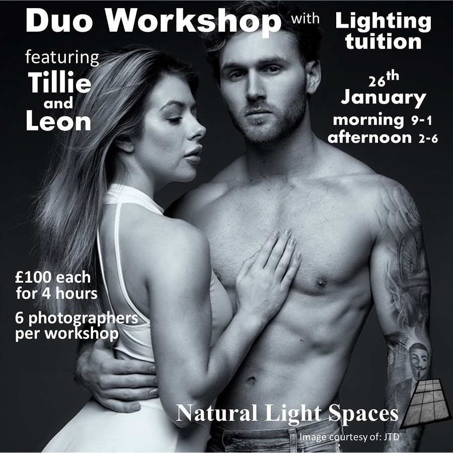Tillie and Leon Duo Day / Photography by JTD-Photography, Models Leon Lift, Models Tillie Feather, Taken at Natural Light Spaces / Uploaded 18th November 2019 @ 09:20 AM