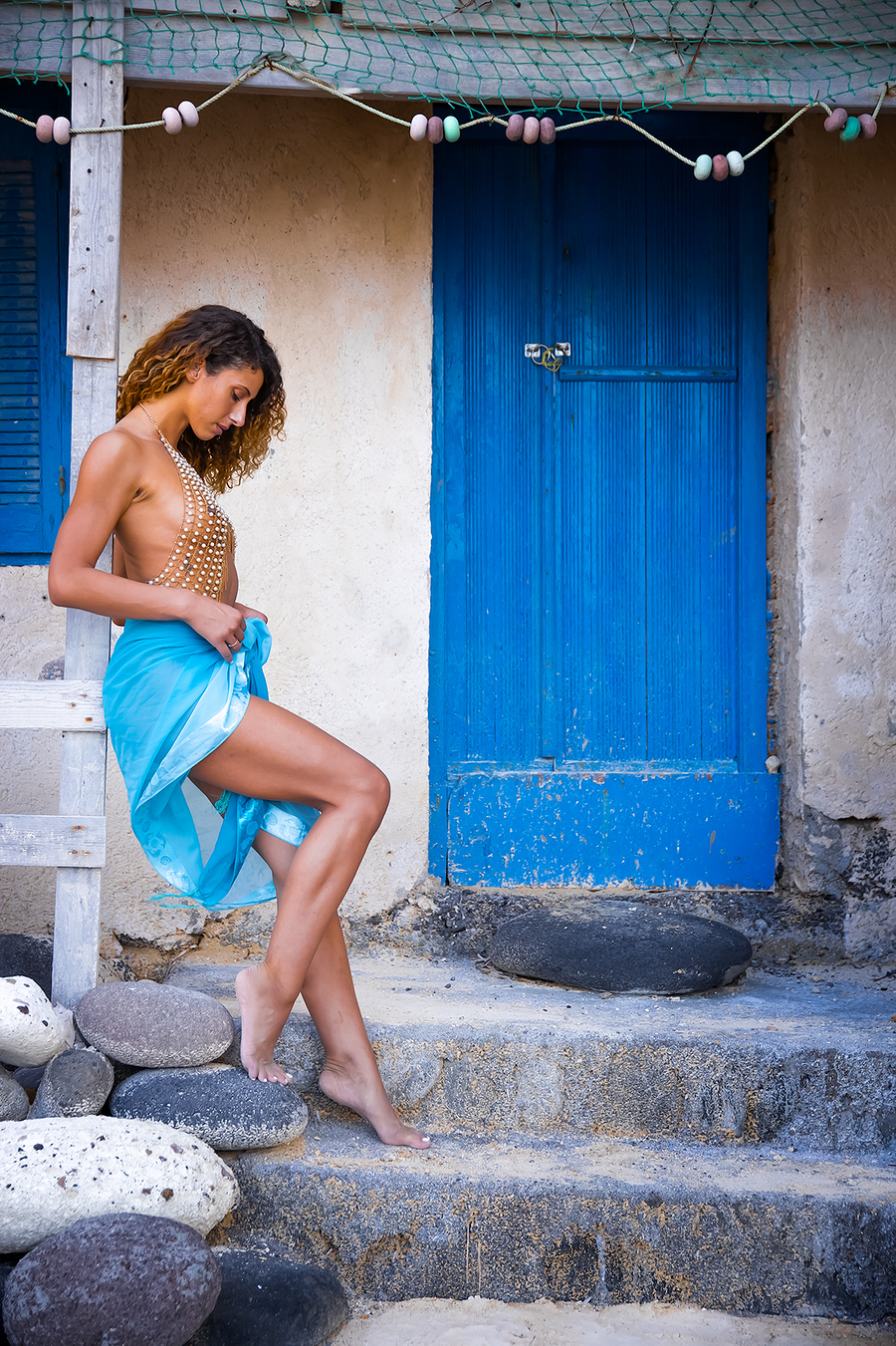 Xkes Santorini 2020 / Photography by JTD-Photography, Model xKes, Taken at Natural Light Spaces / Uploaded 8th November 2020 @ 03:40 PM