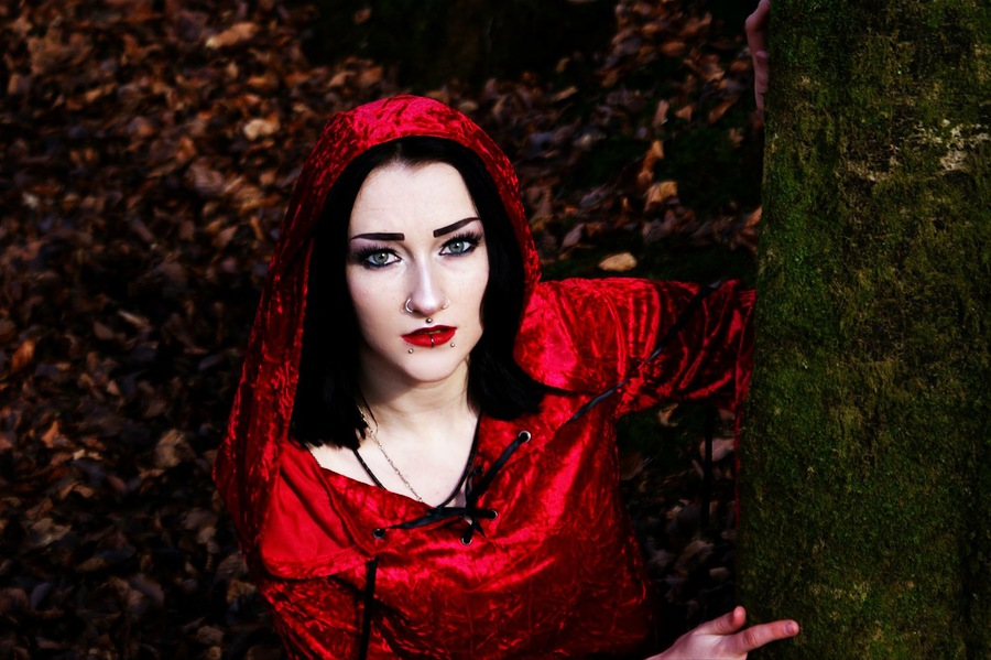 Little Red Riding Hood / Photography by greencar, Model Jade Alexandra Model / Uploaded 24th February 2017 @ 08:19 PM