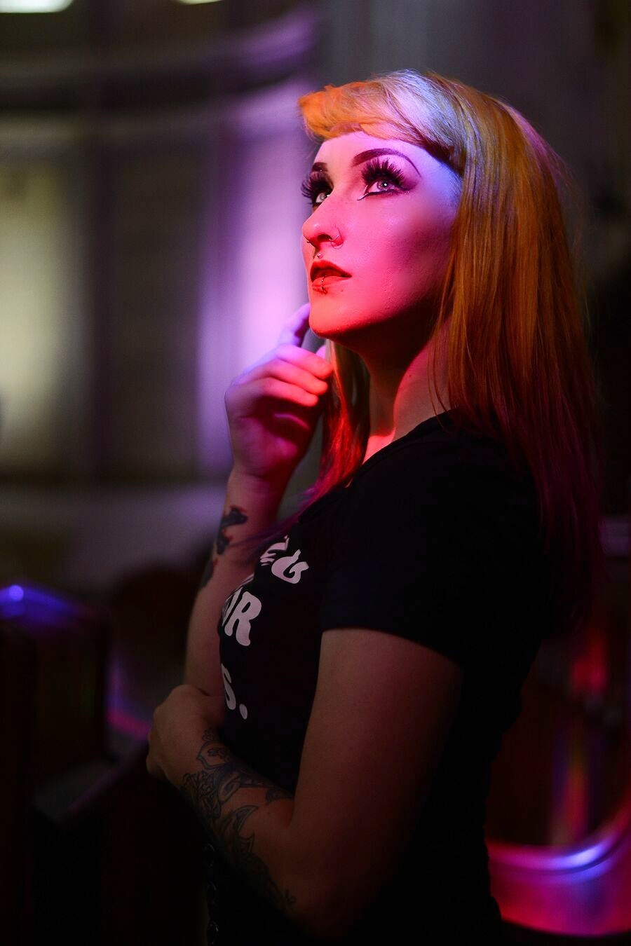 Chapel. / Photography by moonscape, Model Jade Alexandra Model, Makeup by Jade Alexandra Model / Uploaded 2nd October 2018 @ 08:43 PM