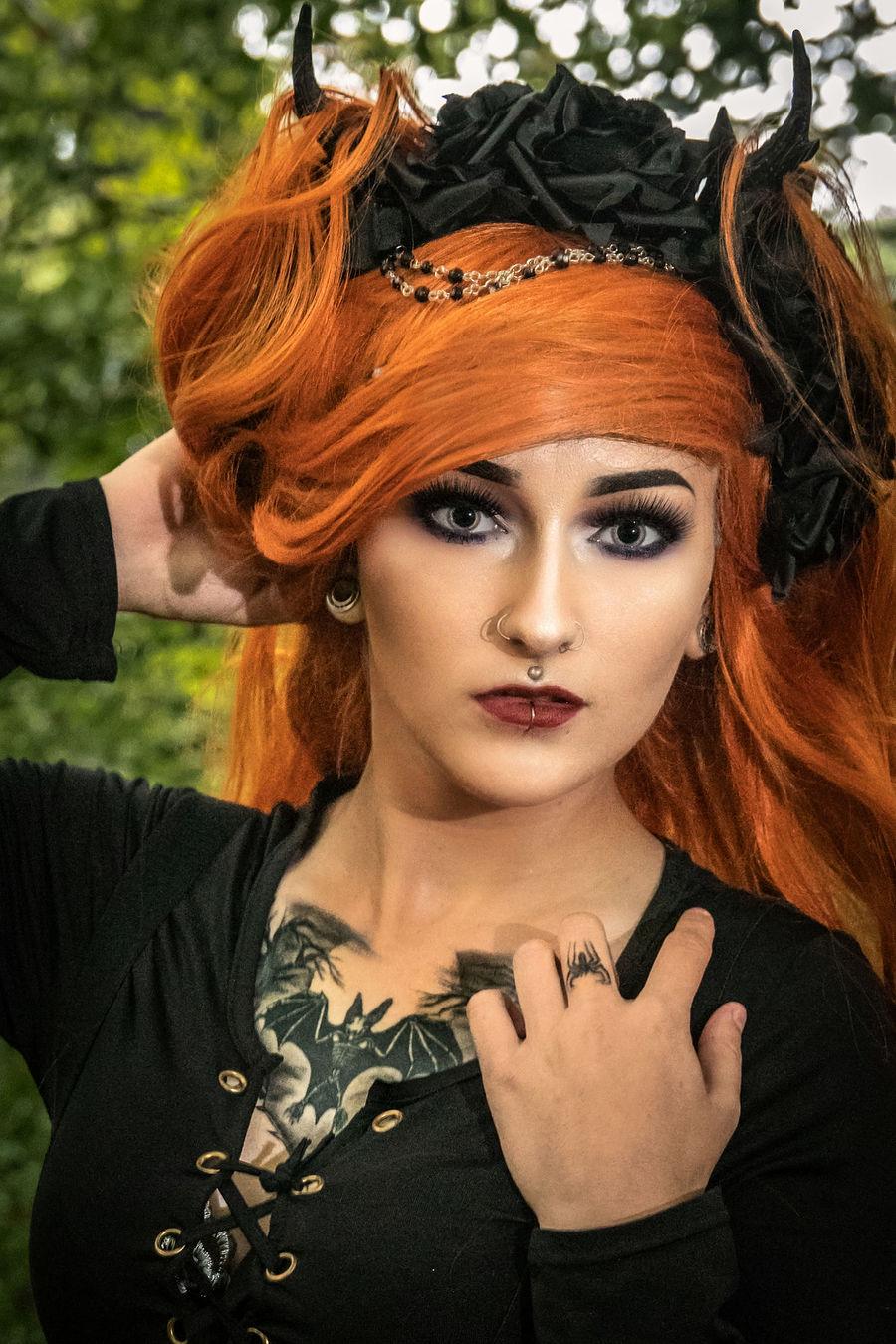 Vampire Princess. / Photography by PRPphoto, Model Jade Alexandra Model, Makeup by Jade Alexandra Model / Uploaded 8th November 2018 @ 10:37 PM