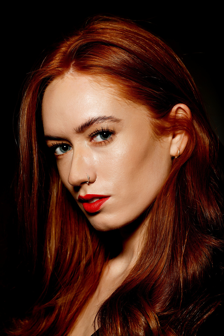 Redheaded Beauty / Photography by Simon Reynolds, Model jennyosullivan, Taken at Mick Payton Studios / Uploaded 13th August 2018 @ 09:24 PM