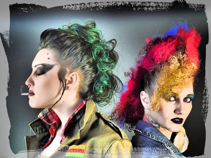 'Duo Punk'i' (created 2017) / Model Juliana Damson, Makeup by SkulledRabbitFX, Taken at SS Creative Photography, Hair styling by SkulledRabbitFX / Uploaded 14th March 2017 @ 04:31 PM