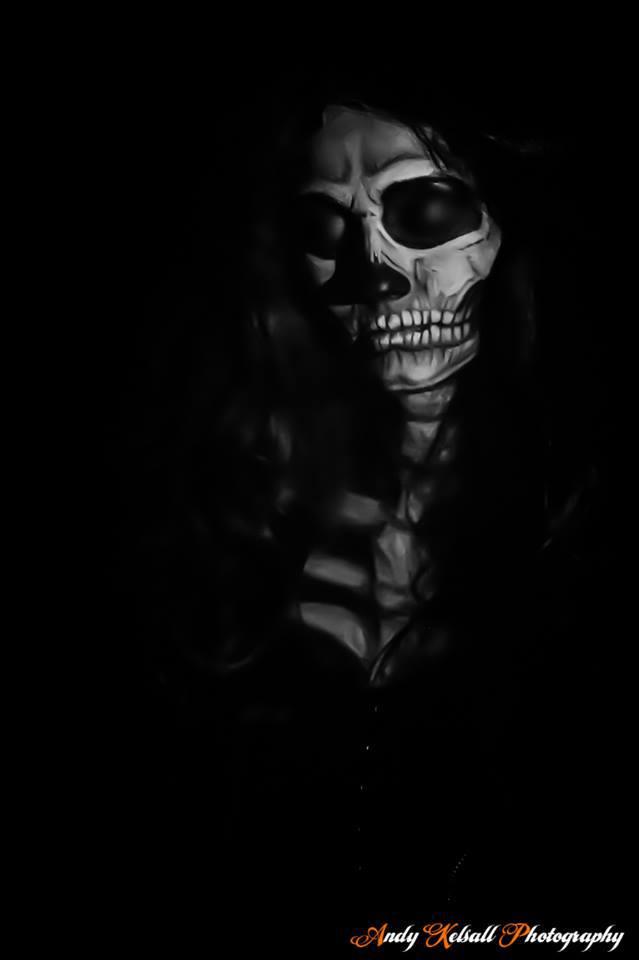 'Skeletal' (2017) / Makeup by SkulledRabbitFX, Stylist SkulledRabbitFX, Hair styling by SkulledRabbitFX, Artwork by SkulledRabbitFX / Uploaded 10th January 2018 @ 09:59 PM