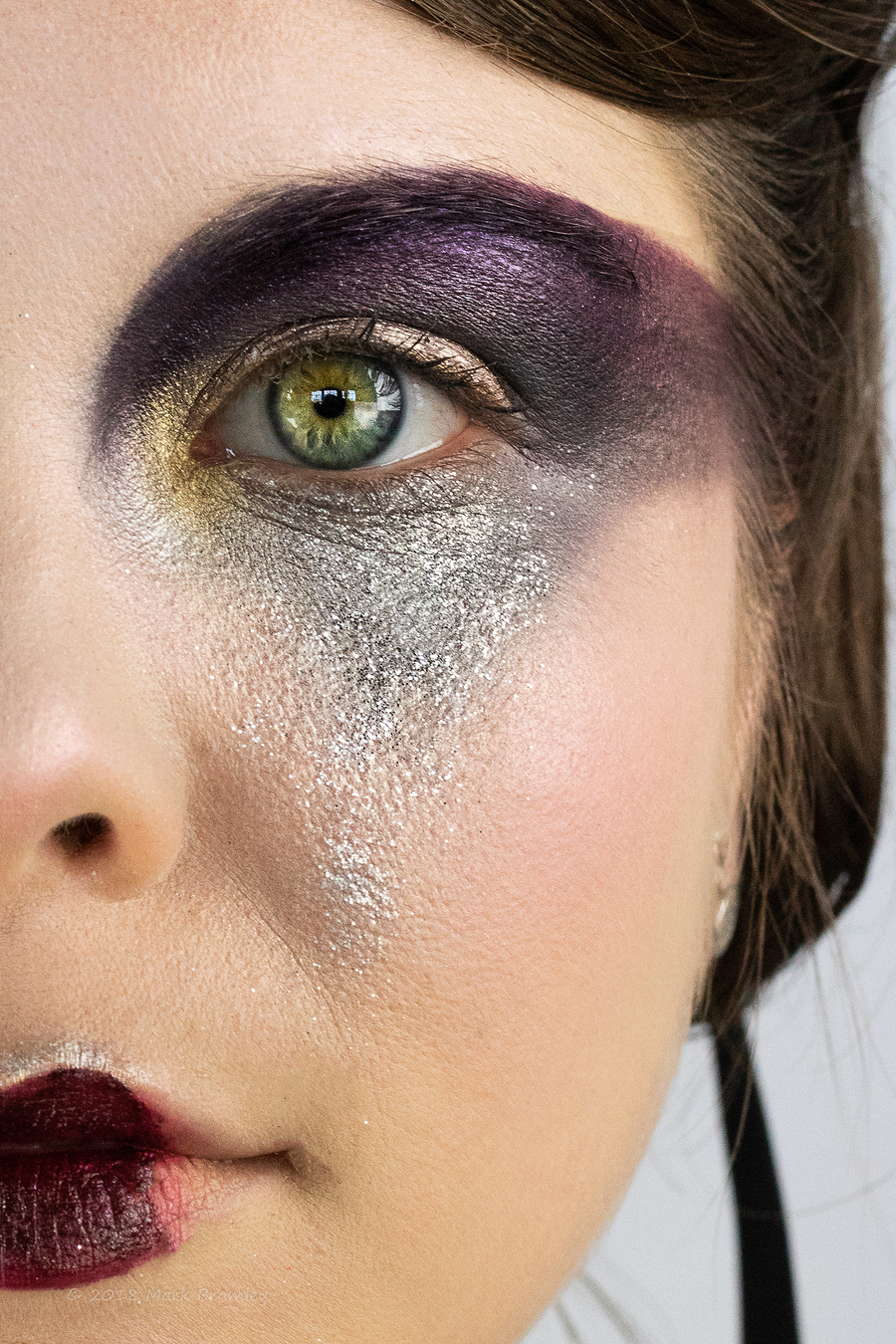 'Dark Beauty' Couture Creature / Makeup by SkulledRabbitFX, Taken at SS Creative Photography / Uploaded 11th May 2018 @ 05:26 PM