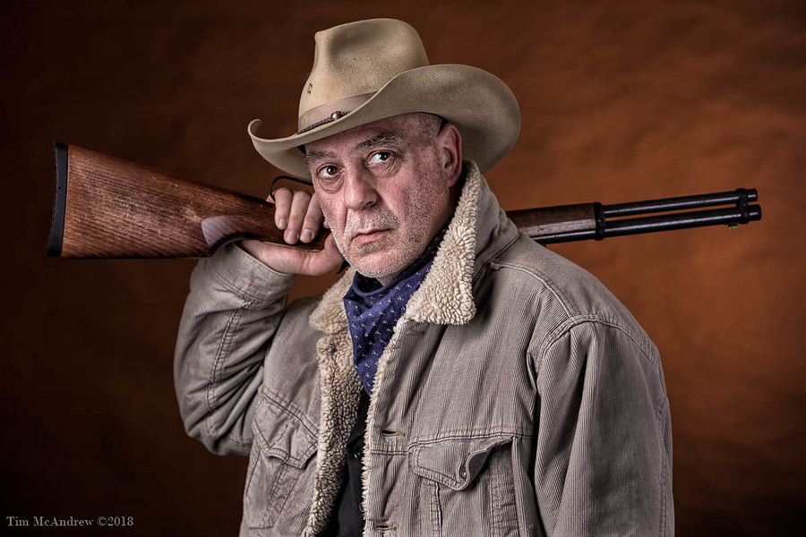 The Cowboy / Photography by Tim McAndrew, Model G Brodie / Uploaded 21st September 2019 @ 08:42 PM