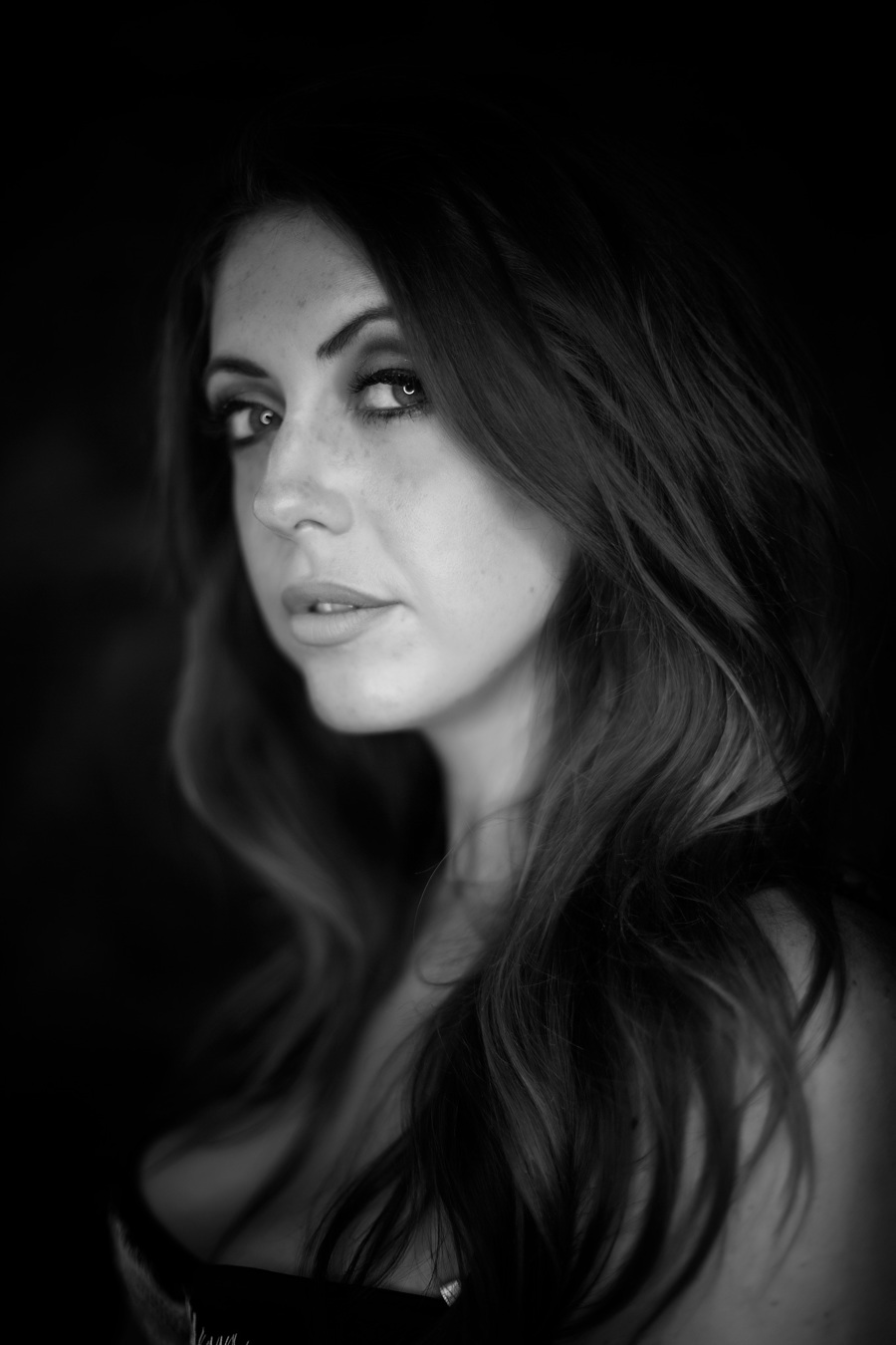 Lauren in B&W / Photography by Paul Anthony Photography, Post processing by Paul Anthony Photography / Uploaded 31st July 2016 @ 10:31 AM